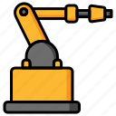 industrial, industrial robot, manufacturing, robot, robotics icon
