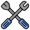manufacturing, repair tools, repairing tools, tool kit, tools, wrench icon