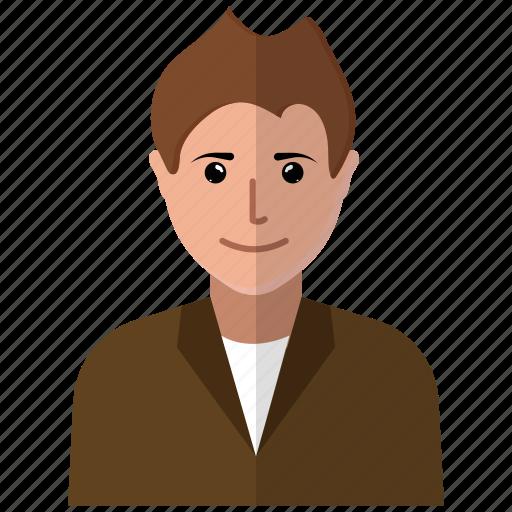 avatar, fred, glasses, human, men, person, user icon