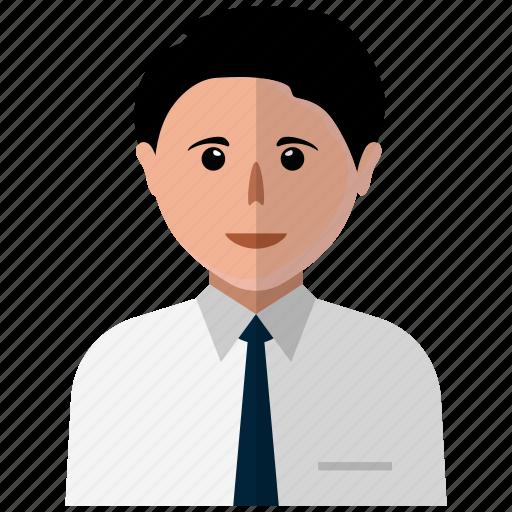 avatar, businness, man, user icon