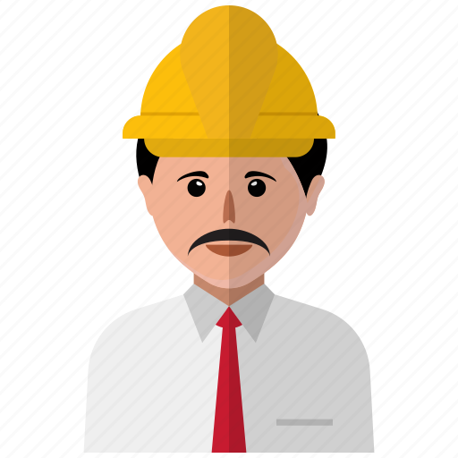 avatar, construction, man, person, profile, user, worker icon