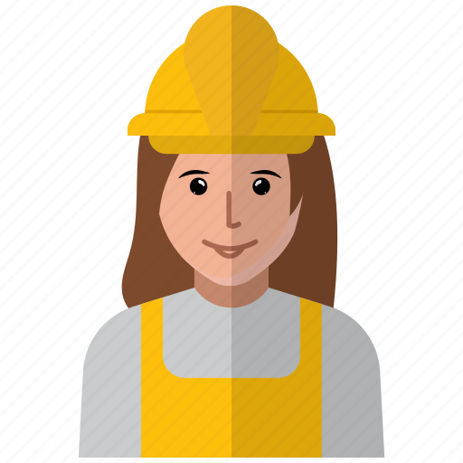 avatar, construction, person, profile, user, worker icon