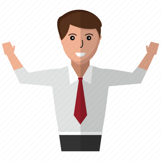 business, jacket, man, people, tie, user icon