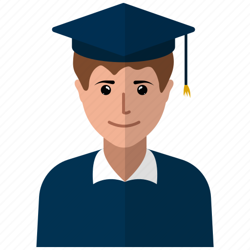 academic degree, academician, graduation cap, lecturer, man, professor, teach icon
