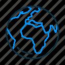 earth, globe, map