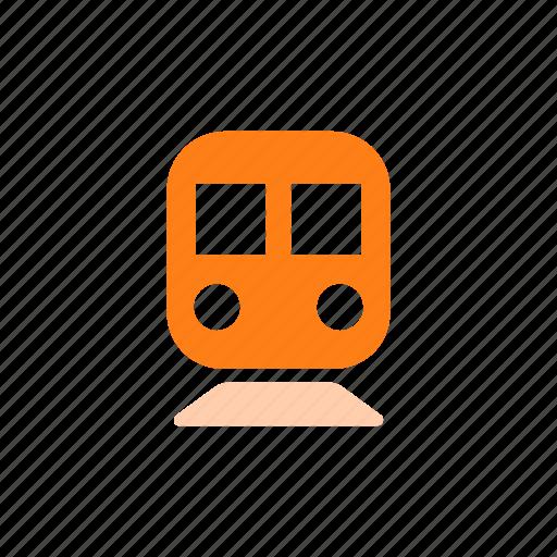 map, public transportation, tram, transportation mode, tube, underground icon