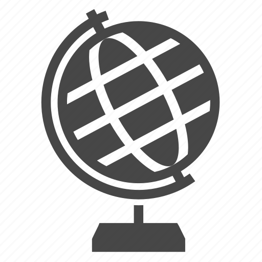 Circle, globe, map, world icon - Download on Iconfinder