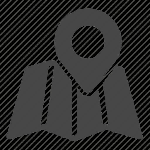 Gps, map, marker icon - Download on Iconfinder on Iconfinder