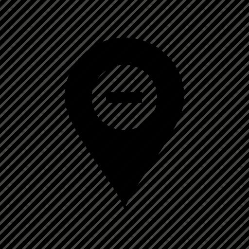 delete location, delete marker, delete pin, location delete, pin, remove icon