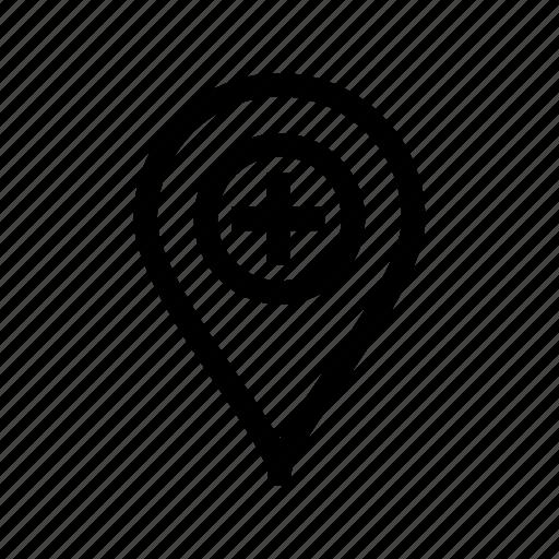 add, add location, add marker, add pin, location add, pin icon