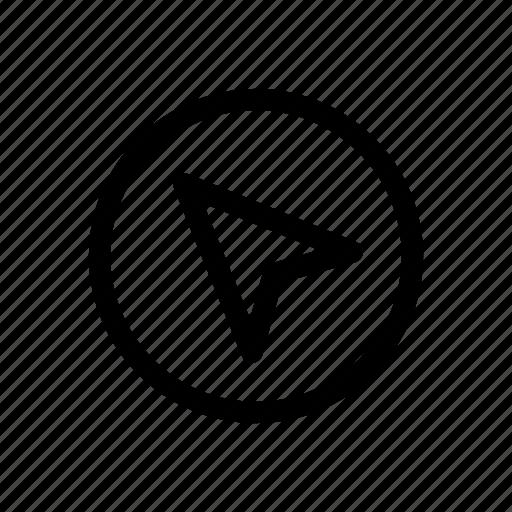 location, location service, map, pointer, service icon