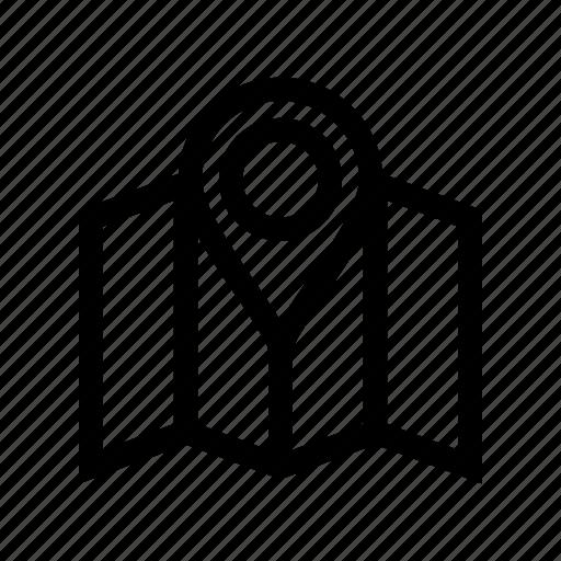 location, location mark, map, map location, marker icon