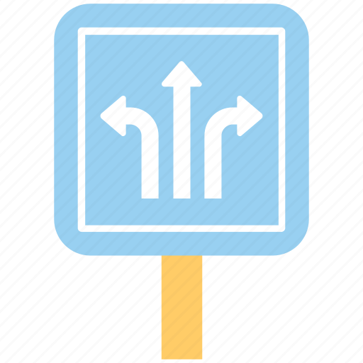 junction sign, road confusion, road direction guide, road guide, road sign icon