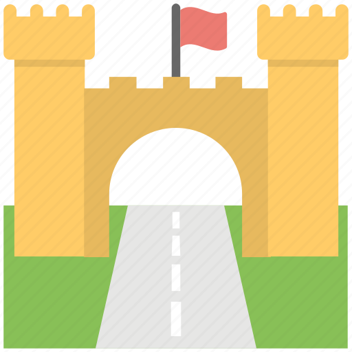 arch gate, city gate, history gate, khyber gate, traveling icon