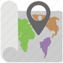 gps map, gps navigation, gps tracker, location, navigational map icon