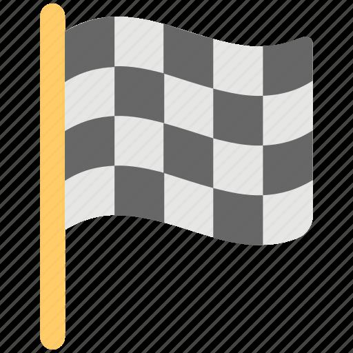 check flag, checkered flag, destination flag, ensign, flag icon