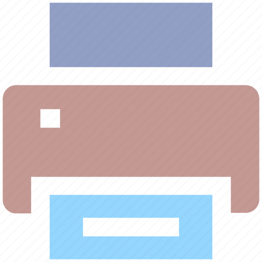 devices, document, fax, paper, print, printer, printing icon