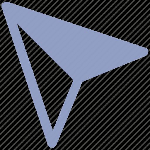 arrow, click, cursor, location, mouse, point, pointer icon