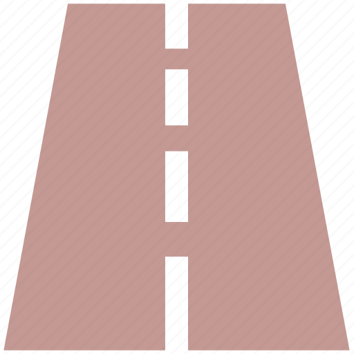 double road, driveway, highway, lane, motorway, road, roads, street, travel, trip, ways icon