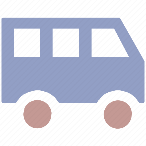 delivery van, family van, minibus, passenger van, school van, transport, van, vehicles icon
