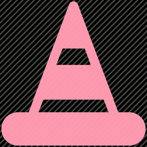 cone, media, media player, player, traffic cone, vlc, vlcplayer icon