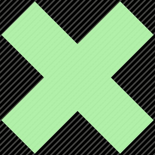 cancel, close, cross, delete, empty, error, incorrect, no, remove, wrong icon