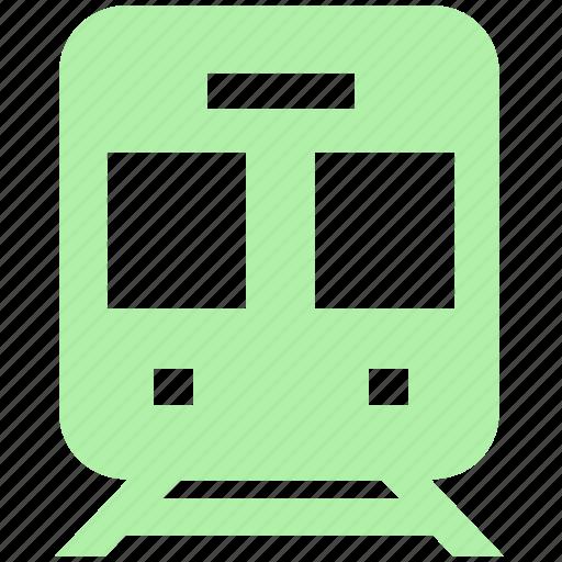 rail, rail transport, railroad, railway, shipping, station, train, transport, vehicle icon