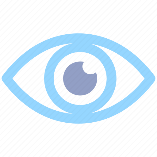 eye, eyeball, human eye, look, overview, search, show, spa, view, visibility, vision icon