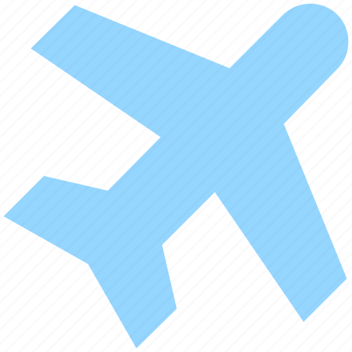air, airliner, airplane, delivery, flight, fly, plane, shipping, transportation, travel icon