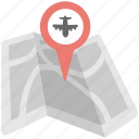 gps location, gps plane tracking, plane traveling location, spacebased airplane tracking, travel map icon
