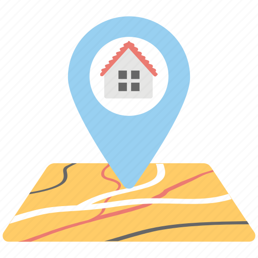 city map, home gps, home location, home map pointer, home pin icon