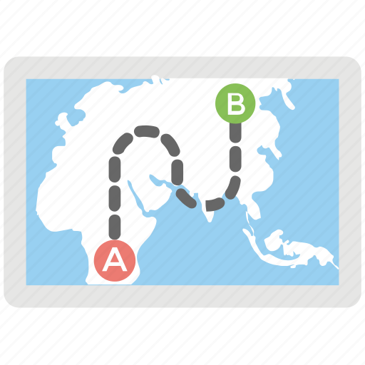 gps tracking, location tracking, map tracking, navigation map, satellite location tracking icon