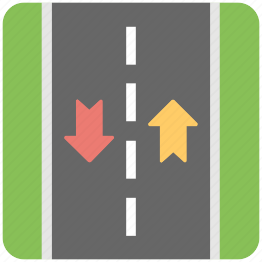 driving, driving directions, highway, road sign, roadway icon