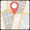 map, location pin, location pointer, geolocation, gps navigation, location marker