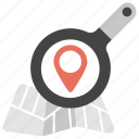 finding location, gps, navigating, pin search., search a location