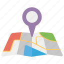 geolocation, gps navigation, location marker, location pin, location pointer, target pin icon