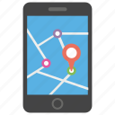 location pointer, map pointer, mobile location, mobile navigation, pin place icon