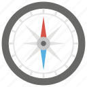 compass, direction, navigation, navigational compass, navigational instrument, orientation tool icon