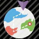 geographic navigation, global gps, global navigation, location map, nautical chart, navigation map icon