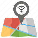 connection, destination, location, navigation, wifi location