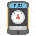directional app, gps, navigation app, navigation device, navigator icon