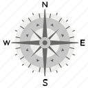 rose compass, compass, direction, navigational instrument, navigational compass, orientation tool, navigation
