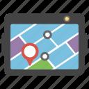 gps, mobile app, navigation, navigator, smartphone app icon