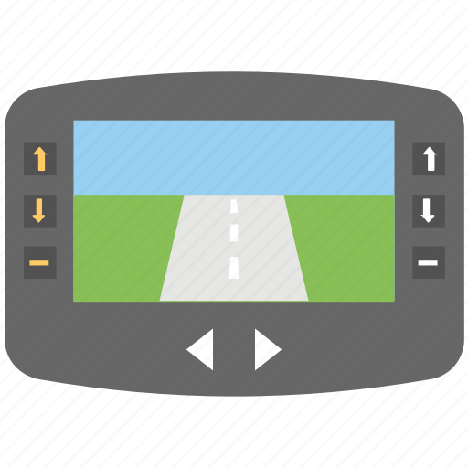 car gps, car gps unit, car navigation, car navigation system, vehicle tracking icon