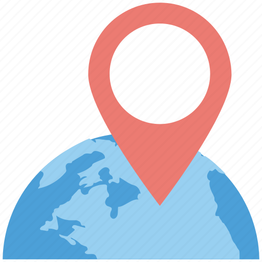 global navigation, global positioning system, globe and pointer, gps, gps navigation icon