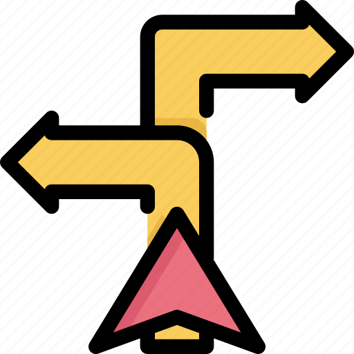 arrow, direction, gps, location, map, navigation, pin icon