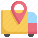 arrow, direction, gps, location, logistic, map, navigation icon