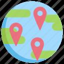 global, gps, location, map, navigation, pin