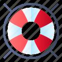 lifebuoy, lifeguard, lifesaver, support icon