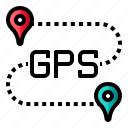 direction, gps, location, pin